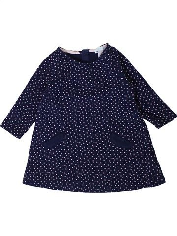 Vestido niña OKAIDI negro 9 meses invierno #1402151_1