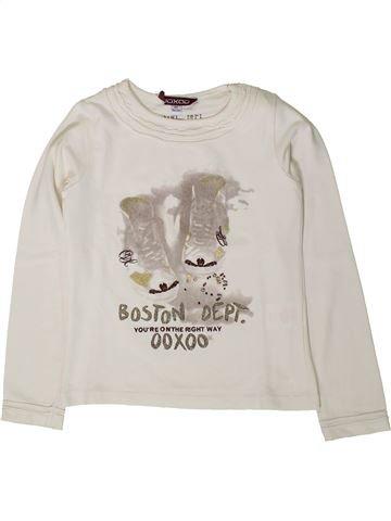 Camiseta de manga larga niña OOXOO blanco 6 años invierno #1402159_1