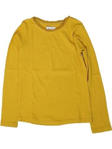 Camiseta de manga larga niña OKAIDI amarillo 6 años invierno #1402161_1