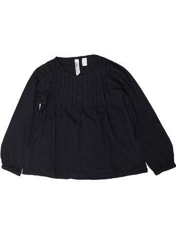 Camiseta de manga larga niña OKAIDI negro 6 años invierno #1402171_1