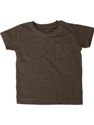 Camiseta de manga corta niño MATALAN marrón 18 meses verano #1402241_1
