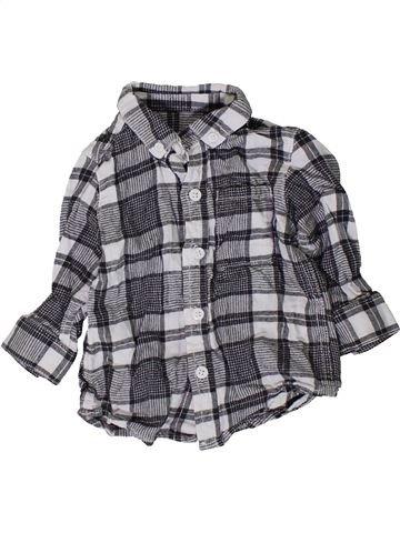 Chemise manches longues garçon NEXT gris 9 mois hiver #1402253_1