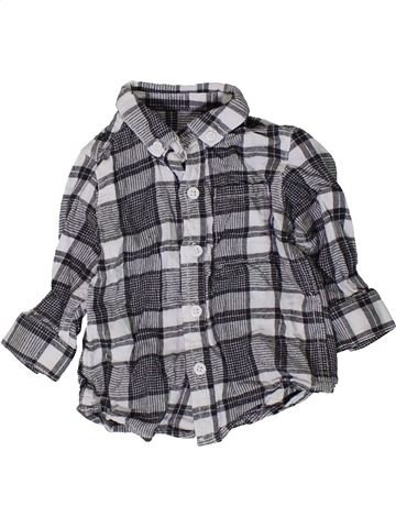 Camisa de manga larga niño NEXT gris 9 meses invierno #1402253_1