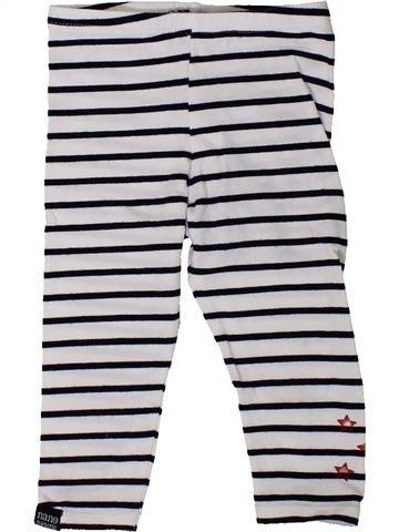 Legging fille NANO & NANETTE blanc 12 mois hiver #1402278_1