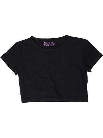 T-shirt manches courtes fille PRIMARK noir 12 ans été #1402358_1