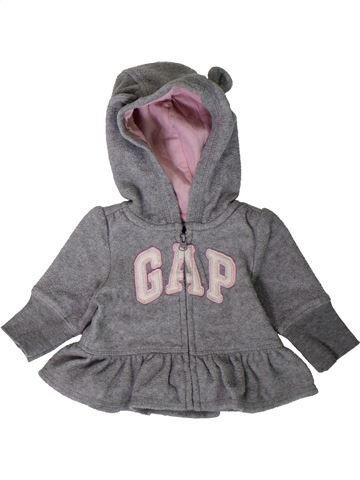 Gilet fille GAP gris 3 mois hiver #1402378_1