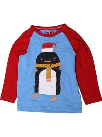 T-shirt manches longues garçon TU bleu 3 ans hiver #1402390_1