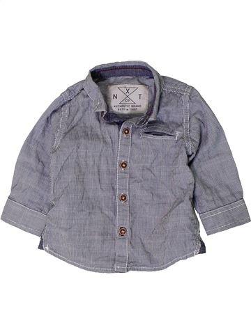 Camisa de manga larga niño NEXT gris 6 meses invierno #1402407_1