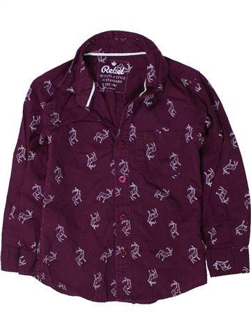 Camisa de manga larga niño PRIMARK marrón 3 años invierno #1402455_1