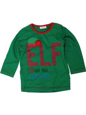 Camiseta de manga larga niño NEXT verde 12 meses invierno #1402541_1