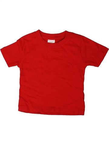 Camiseta de manga corta niño BABY rojo 18 meses verano #1402569_1