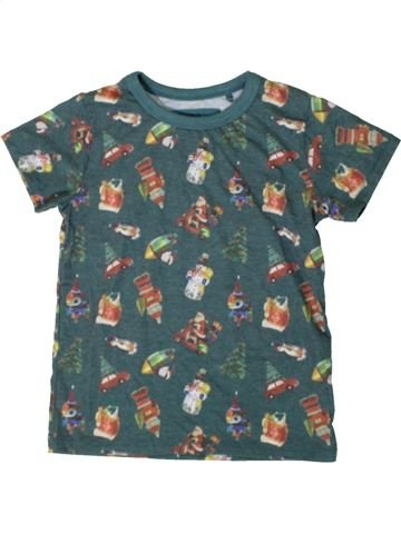 Camiseta de manga corta niño NEXT verde 4 años verano #1402637_1