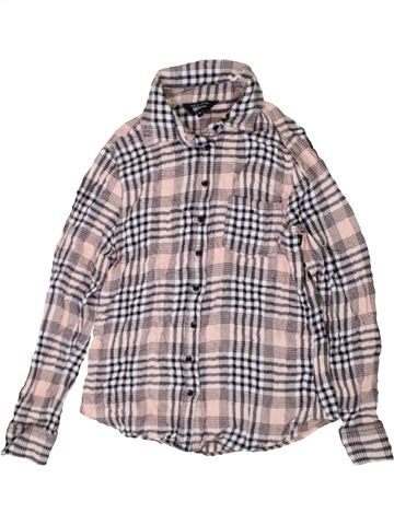 Blouse manches longues fille NEW LOOK gris 14 ans hiver #1402638_1
