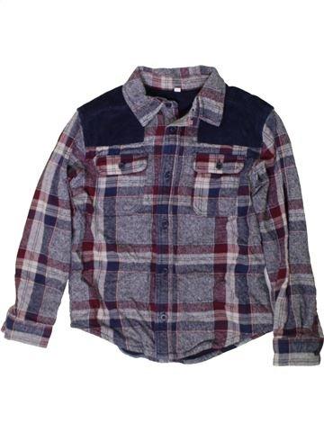 Camisa de manga larga niño MARKS & SPENCER azul 9 años invierno #1402639_1