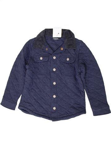 Camisa de manga larga niño MARKS & SPENCER azul 7 años invierno #1402642_1