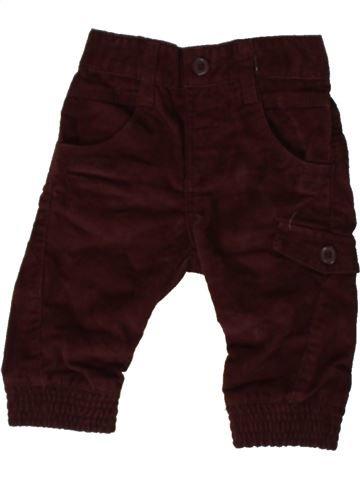 Pantalon garçon MATALAN marron 6 mois hiver #1402647_1