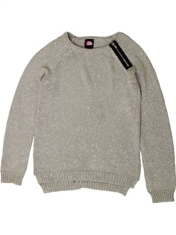 Pull fille GEORGE gris 11 ans hiver #1402688_1