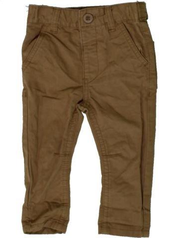 Pantalon garçon BHS marron 6 mois été #1402705_1