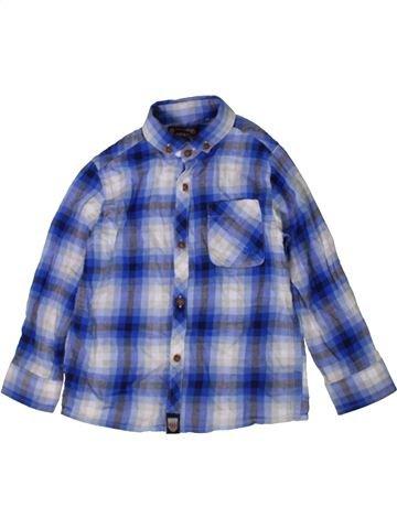 Chemise manches longues garçon NEXT bleu 4 ans hiver #1402718_1