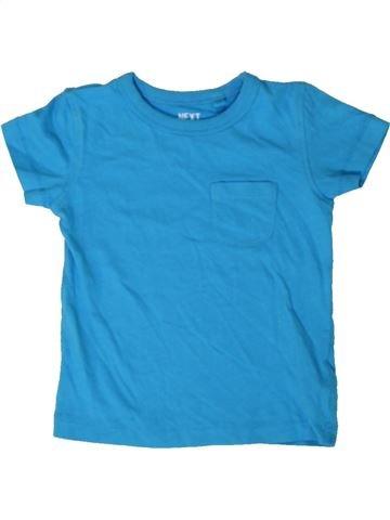 T-shirt manches courtes garçon NEXT bleu 9 mois été #1402728_1