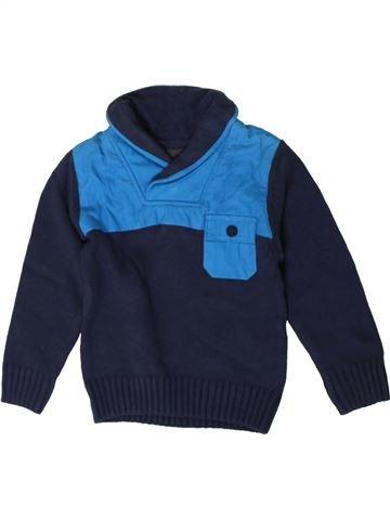 Pull garçon BENCH bleu 4 ans hiver #1402744_1