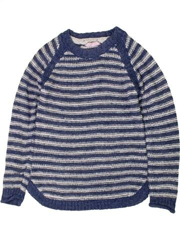 Pull fille PRIMARK bleu 9 ans hiver #1402763_1