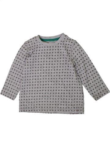 Camiseta de manga larga niño F&F gris 18 meses invierno #1402772_1