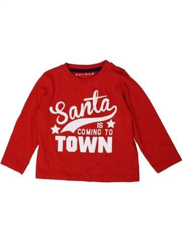 Camiseta de manga larga niño NUTMEG rojo 18 meses invierno #1402774_1