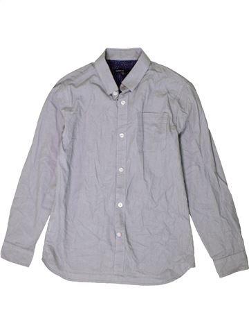 Chemise manches longues garçon MARKS & SPENCER gris 12 ans hiver #1402777_1