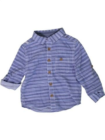 Camisa de manga larga niño PRIMARK violeta 18 meses invierno #1402814_1