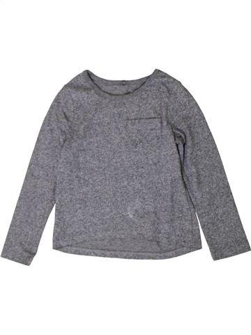 Camiseta de manga larga unisex GEORGE gris 5 años invierno #1402830_1