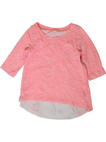 Camiseta de manga larga niña DUNNES STORES rosa 9 años invierno #1402853_1