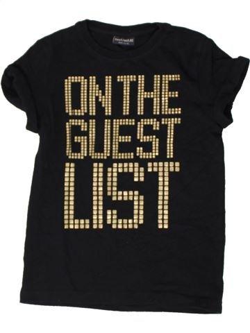T-shirt manches courtes fille NEXT noir 6 ans été #1402883_1