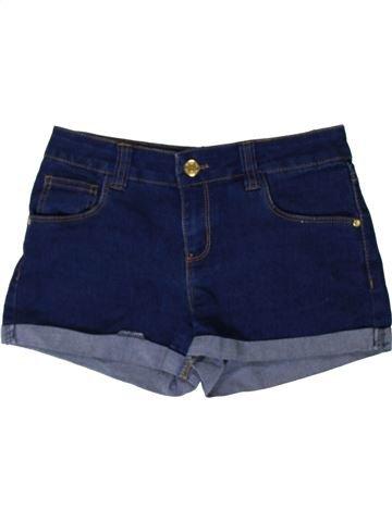 Short-Bermudas niña PRIMARK azul 11 años verano #1402891_1