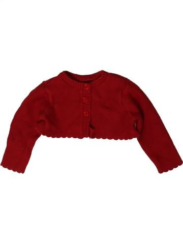 Gilet fille MOTHERCARE rouge 3 mois hiver #1402894_1