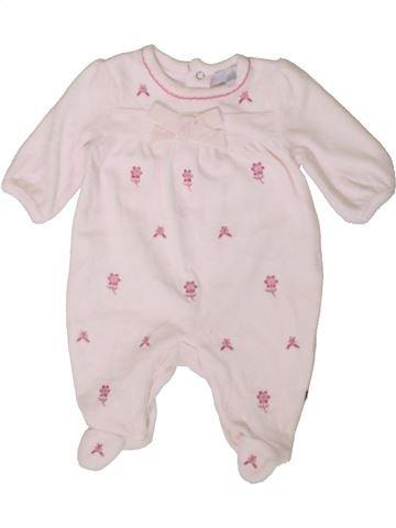 Pijama de 1 pieza niña ZIP ZAP violeta 1 mes invierno #1402959_1