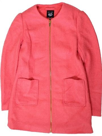 Manteau fille NEW LOOK rose 13 ans hiver #1402990_1
