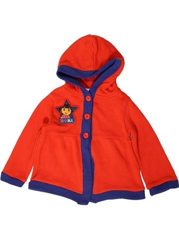 Gilet fille NICKELODEON rouge 5 ans hiver #1403083_1
