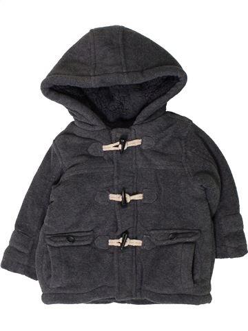 Manteau garçon MOTHERCARE noir 9 mois hiver #1403086_1