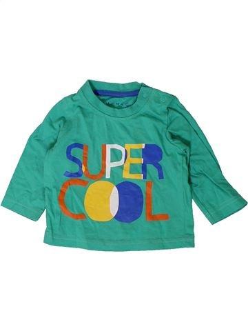 T-shirt manches longues garçon NUTMEG vert 3 mois hiver #1403148_1