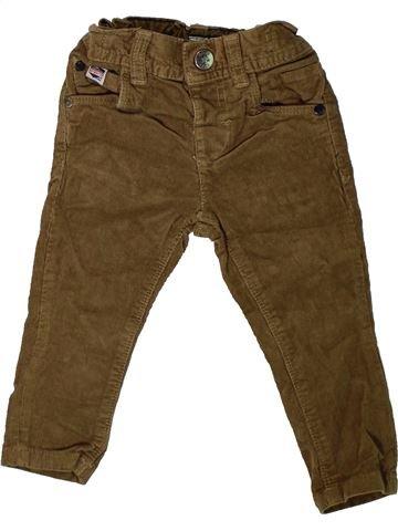 Pantalon garçon NEXT marron 12 mois hiver #1403176_1