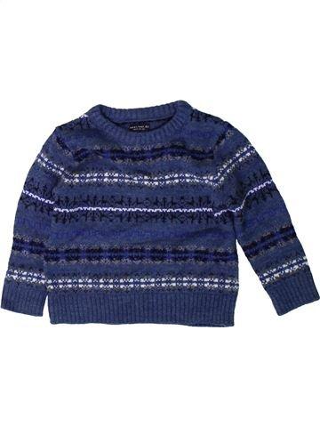 Pull garçon NEXT bleu 3 ans hiver #1403218_1