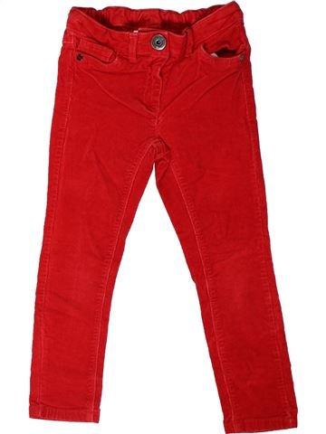 Pantalon fille NEXT rouge 5 ans hiver #1403262_1