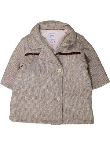 Manteau fille GAP gris 1 mois hiver #1403295_1