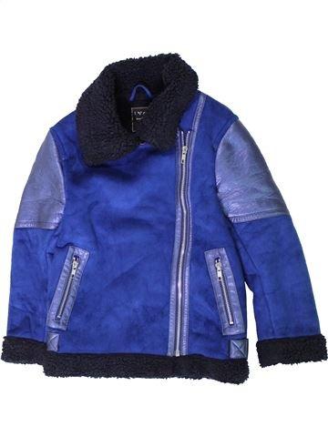 Manteau fille NEXT bleu 8 ans hiver #1403445_1