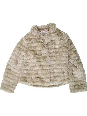 Manteau fille MARKS & SPENCER beige 12 ans hiver #1403502_1