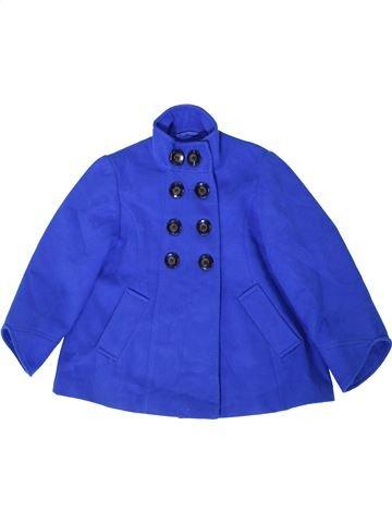 Manteau fille NEXT bleu 10 ans hiver #1403549_1