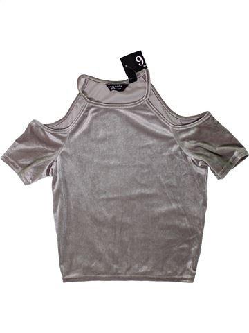 Camiseta de manga corta niña NEW LOOK gris 13 años invierno #1403581_1