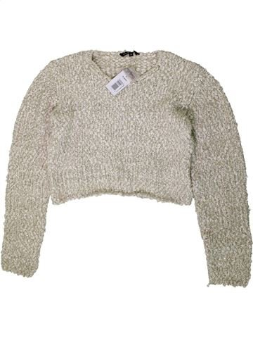 Pull fille CANDY COUTURE beige 16 ans hiver #1403652_1