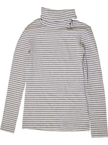 T-shirt col roulé fille NEXT gris 10 ans hiver #1403761_1